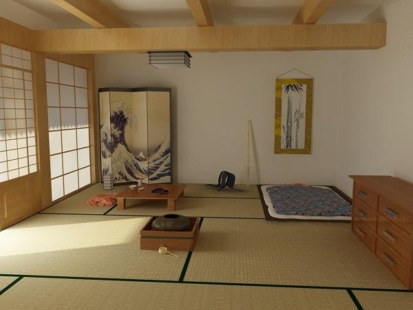 Kamar Tidur Jepang Sederhana  andreassuryadinata laman 2